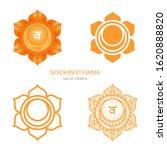 svadhishthana  sacral chakra...   Shutterstock .eps vector #1620888820