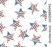 american flag star shaped... | Shutterstock .eps vector #1620889093