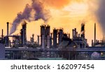 Smokestack In Factory With...