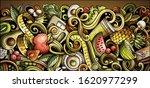 diet food hand drawn doodle... | Shutterstock .eps vector #1620977299