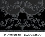seamless pattern  background in ... | Shutterstock .eps vector #1620983500