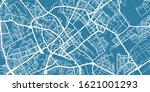 detailed vector map of minsk ... | Shutterstock .eps vector #1621001293