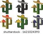 vector cactus mexican  editable ...