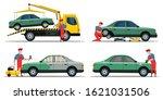 automobile service set....   Shutterstock .eps vector #1621031506