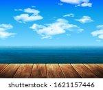 summer landscape sea beach and... | Shutterstock .eps vector #1621157446