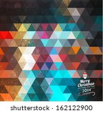 triangle pattern background... | Shutterstock .eps vector #162122900