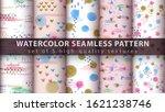 Watercolor Seamless Pattern...