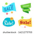 set flat linear colored... | Shutterstock . vector #1621275703