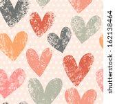 bright romantic seamless... | Shutterstock .eps vector #162138464