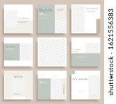 social media template. modern... | Shutterstock .eps vector #1621556383