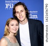 Small photo of Santa Barbara, CA - Jan 20, 2020: Julia Kupiec and Ace Buckley attend the 35th Annual Santa Barbara International Film Festival, Montecito Award at Arlington Theatre