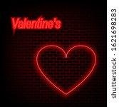 valentine's day background...   Shutterstock .eps vector #1621698283