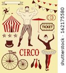 illustration of the circus | Shutterstock .eps vector #162175580