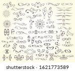 a large set of design elements... | Shutterstock .eps vector #1621773589