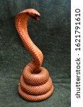 A Stuffed Spectacle Cobra In...