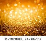 Golden Glitter And Stars For...