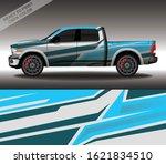 car wrap decal design vector ...   Shutterstock .eps vector #1621834510