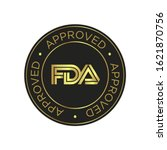 fda approved  food and drug... | Shutterstock .eps vector #1621870756