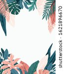 bright and trendy summer... | Shutterstock .eps vector #1621896670