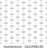 outline eye icon pattern...   Shutterstock .eps vector #1621908130