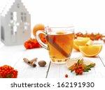 Cup Of Hot Winter Tea  Or...