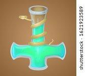 magic potion game asset vector...