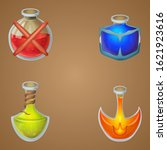 magic potions game asset vector ...