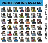 professions and occupation... | Shutterstock .eps vector #1621941139