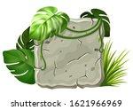 stone board decoration liana...   Shutterstock .eps vector #1621966969