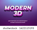 modern 3d effect and futuristic ... | Shutterstock .eps vector #1622115193