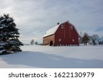 A Beautiful Winter Scene With A ...
