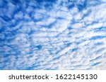 Background Of Clouds Against...