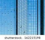 facade of skyscraper with glass ... | Shutterstock . vector #162215198