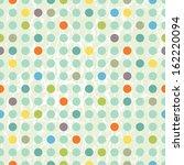 vector illustration of a polka... | Shutterstock .eps vector #162220094
