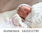 Reborn Baby Girl Doll In A Cot...