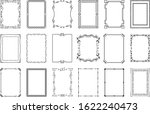 big set of vector decorative... | Shutterstock .eps vector #1622240473