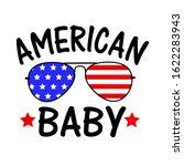 American Baby Usa Flag...