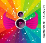 music. vector elements for...   Shutterstock .eps vector #16222924