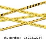 police lines. crime scene.... | Shutterstock .eps vector #1622312269