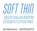 high thin italic font  trendy...   Shutterstock .eps vector #1622316373