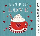 sweetheart holiday vector... | Shutterstock .eps vector #1622321470