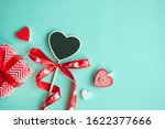 valentine's day concept. top... | Shutterstock . vector #1622377666