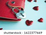 valentine's day concept. top... | Shutterstock . vector #1622377669