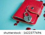 valentine's day concept. top... | Shutterstock . vector #1622377696