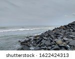 Small photo of Relinquish the beauty of nature ocean rocks