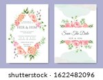 beautiful wedding invitation... | Shutterstock .eps vector #1622482096