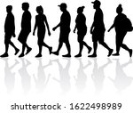 group of people. crowd of... | Shutterstock . vector #1622498989