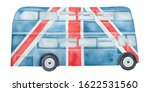 Double Decker Bus With...