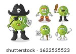 tennis ball pirate 5 styles... | Shutterstock .eps vector #1622535523