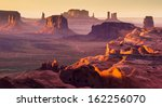 Monument Valley  Desert Canyon...